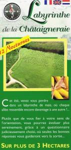 Labyrinthe de Maïs de la Châtaigneraie Recto